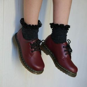 Dr. Martens Cherry red 1461 leather oxfords 37